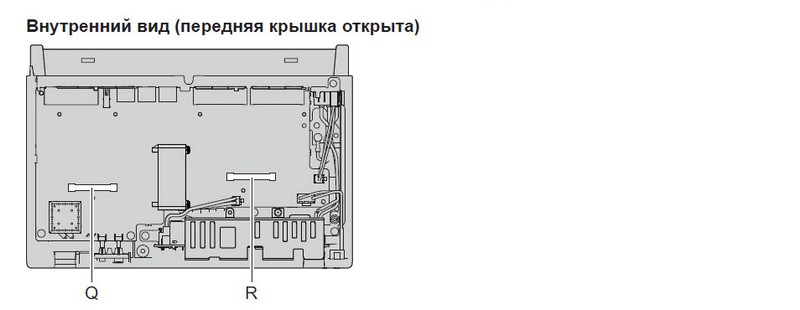 KX-HTS824RU элементы часть 2
